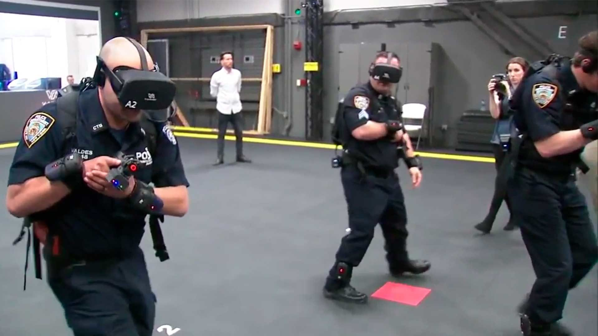 Levensreddende NYPD training in Virtual Reality.
